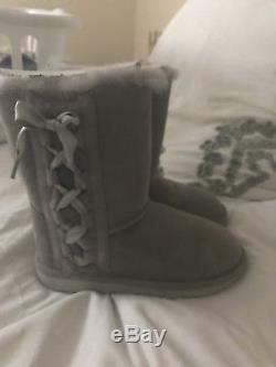 UGG Kids Pala NWOB GREY GIRLS Size 13
