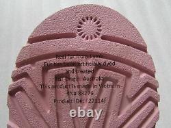UGG Slipper Shoes Cozy Plaid Flannel Big Kid 5 Fits Women 6 7 Pink