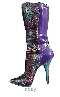 ULTRA RARE Just The Right Shoe MUTANT ROSE By Lorraine Vail (Raine) COA