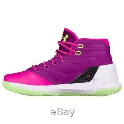 newest a65b5 d38ad ... coupon code for under armour ua kids girls boys curry 3 basketball  shoes sneakers pink purple