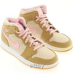 US sz 5.5 Air Jordan 1 Hare Girls Jordan GS 2009YELLOWING On Left Shoe