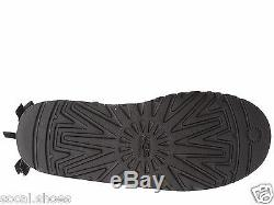 Ugg Australia Bailey Bow Tall Black 1007309 Kids Girls Youth Boots Shoes New