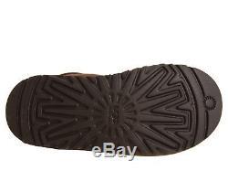 Ugg Australia Girls Kids Youth Boots Maddi Tall Chocolate Brown Size 6 New