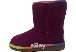 Ugg Australia Kid's Classic Short Rainbow Boots