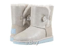 Ugg Australia Kids Girls Boots Arendelle Swarovski Ise Size 4 Women 6 New