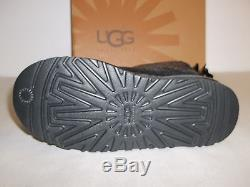 Ugg Australia Size 1 M Bailey Bow 1006197K Sparkle Boots New Girls Kids Shoes