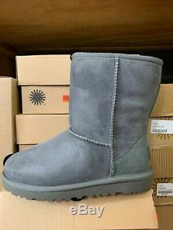 Ugg Kids Girl's K Classic Boot 5251 Grey Size 13-2