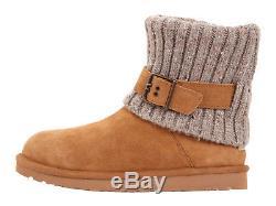 Uggs Designer Children Kids Girls Women Classic Chestnut Boots! Size 6