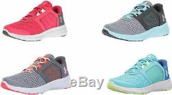 Under Armour Girls' Pre School Micro G Fuel Shoes, 4 Colors