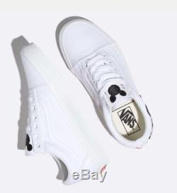 Vans x Disney Old Skool Mickey Mouse Hand White Kids Youth GS Boys and Girls