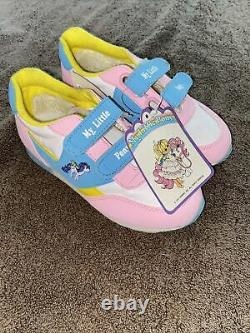 Vintage 1987 Girl Kids size 11 My Little Pony Hasbro Sneakers Shoes New