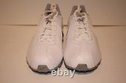 Vintage 2014 Nike Shox Classic (GS) Youth Girl's/Boy's Leather White/Silver Shoe