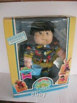 Vintage Cabbage Patch Kids Poseable Kids 15 Girl withWeebok Shoes NRFB