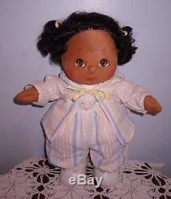 Vintage Mattel 1985 My Child African American Girl Doll All Original + Shoes A++