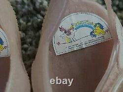 Vintage My Little Pony G1 1987 Jelly Shoes Children's jellies