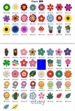 Wholesale 1000pcs Shoe Charms PVC Lot Cute Designs fit Shoes Kid Party Gifts