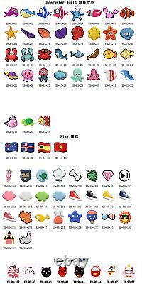 Wholesale 1200pcs Soft Shoe Charms Sandal Accessories Suit Bracelets Kids Gifts