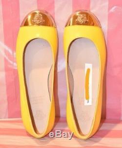 Young Versace girls gold Medusa ballet yellow shoes size 31 (EU 31 / USA 13.5)