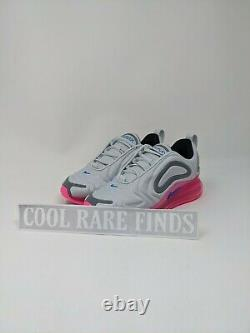 Youth Nike Air Max 720 GS Kids Pure Platinum Pink Shoes AQ3196-008 Size 3Y